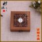 纪念币包装盒 木盒定做 奖章木盒 密度板礼品木盒子 纪念币盒子